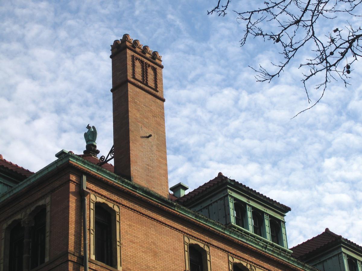 montauk club chimney