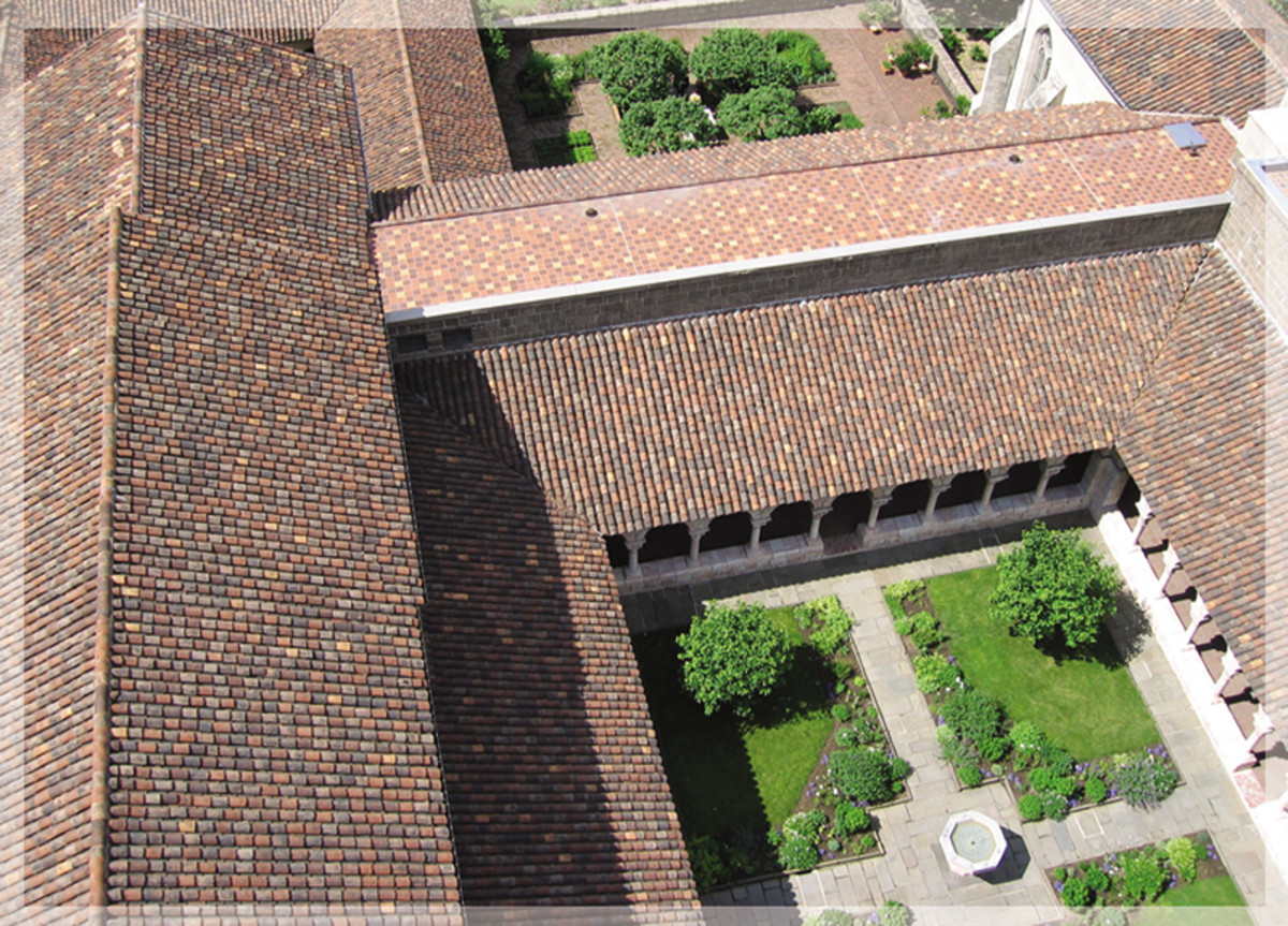 roof of the cloisters new york city