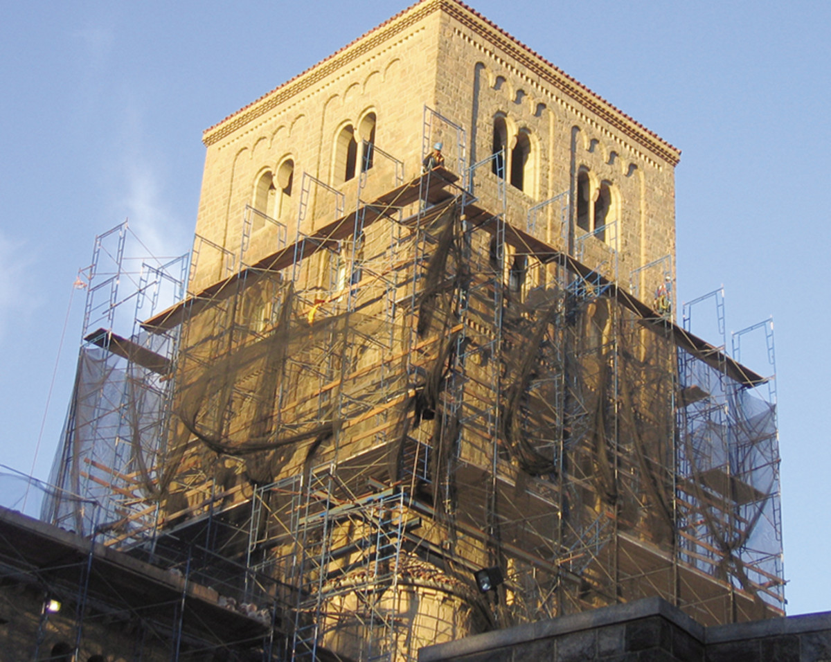Cloisters Restoration