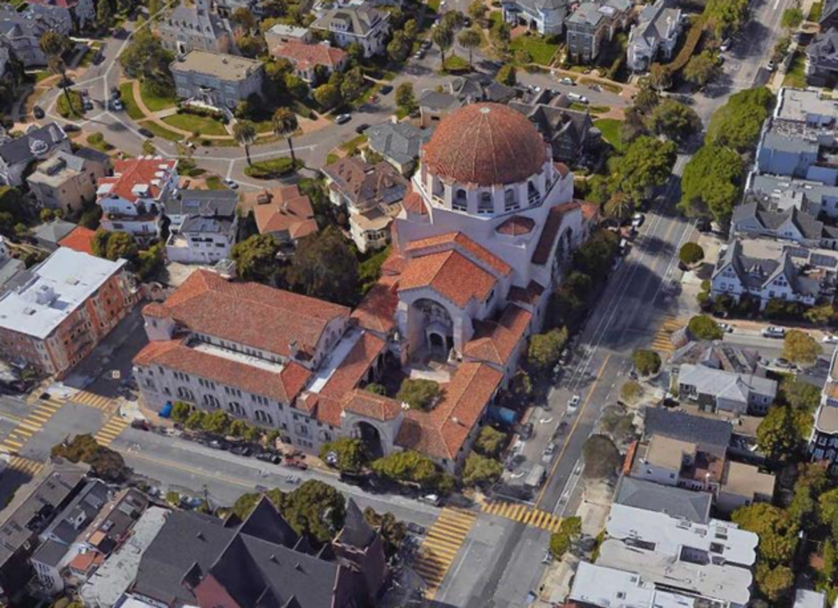 Temple Emanu-el, by Arthur Brown, San Francisco (Public Square/CNU)