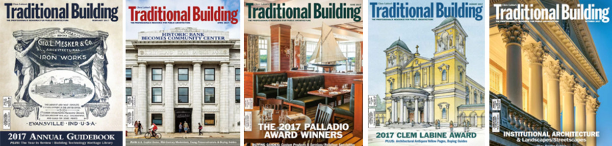 2017 Traditional Building covers