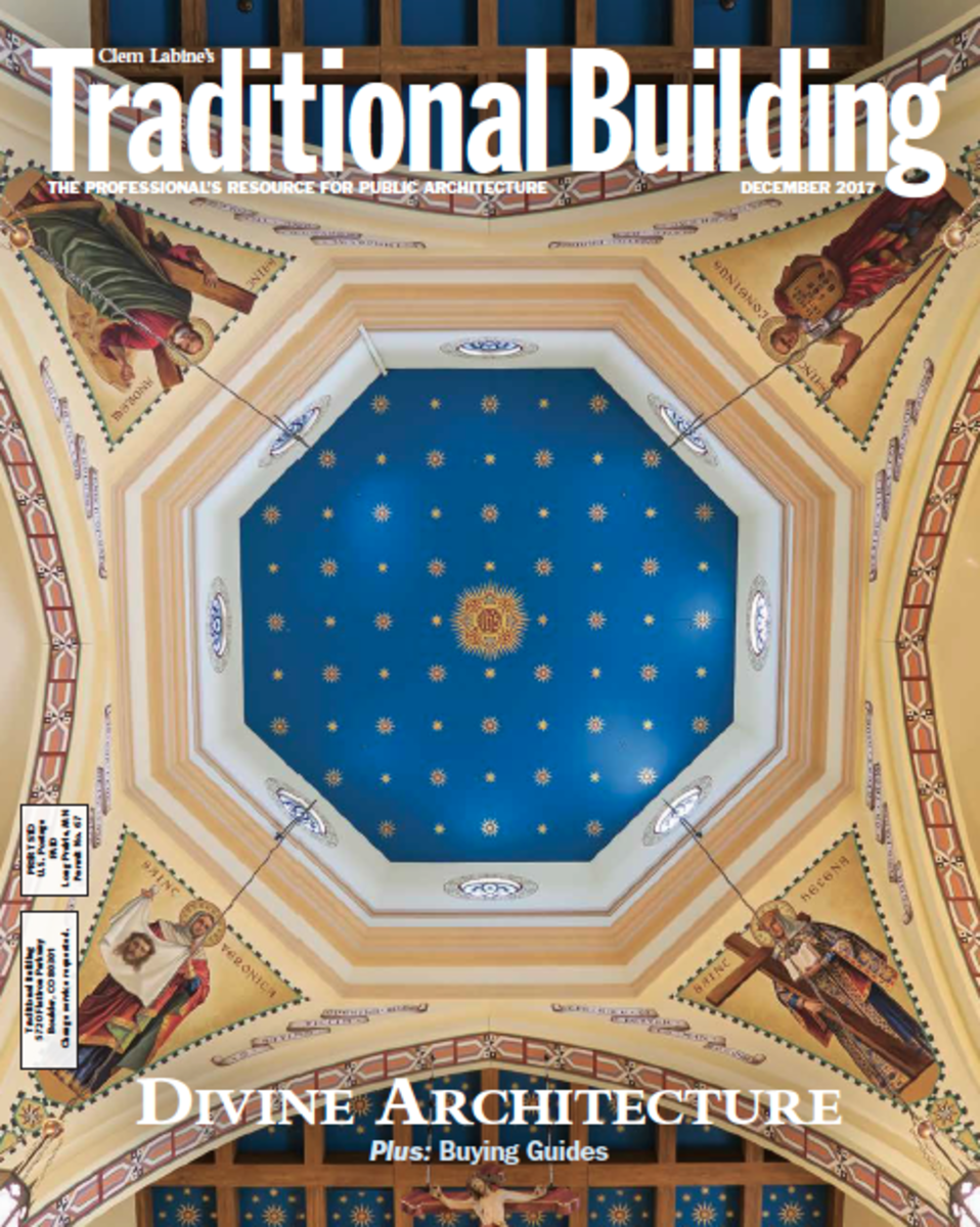 Traditional Building December 2017 issue