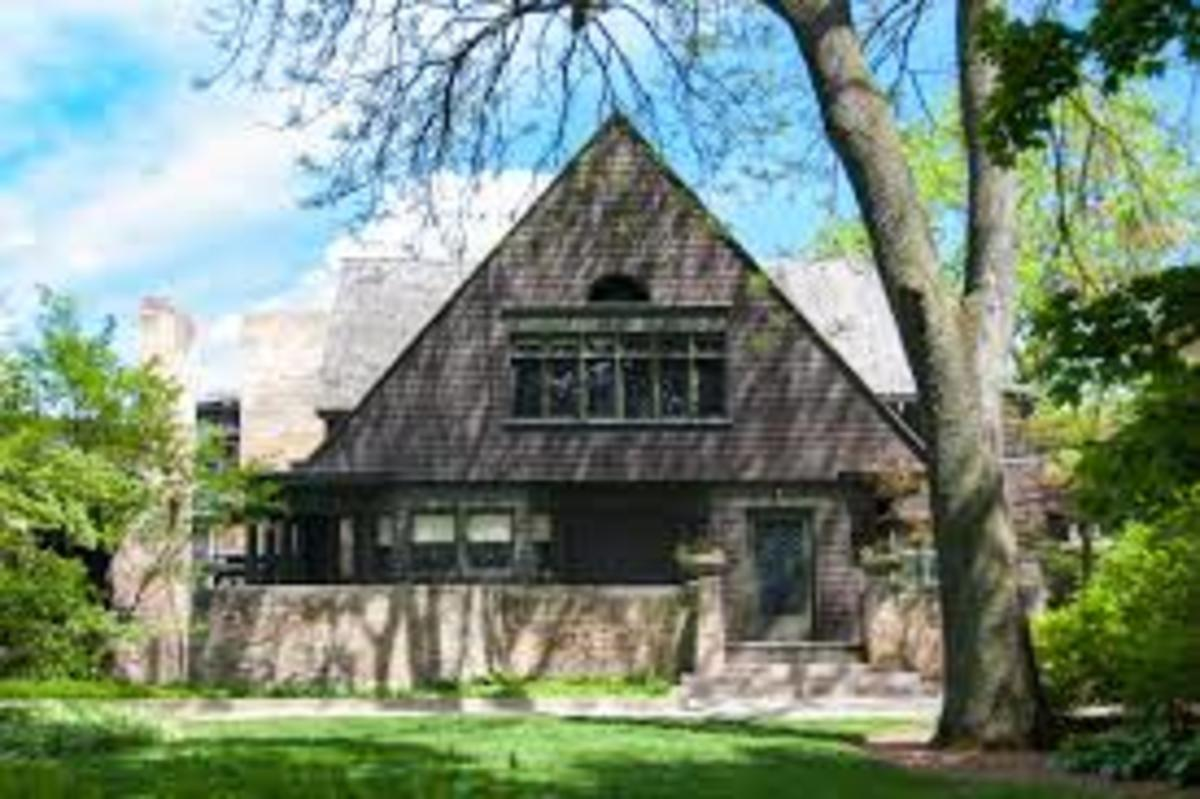 Frank Lloyd Wright, Home, Oak Park, Illinois, 1888