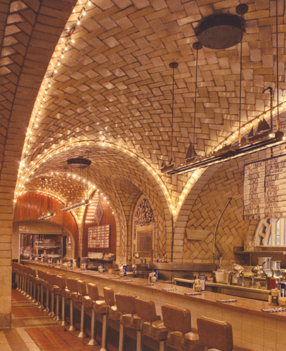 guastavino vaulted ceiling