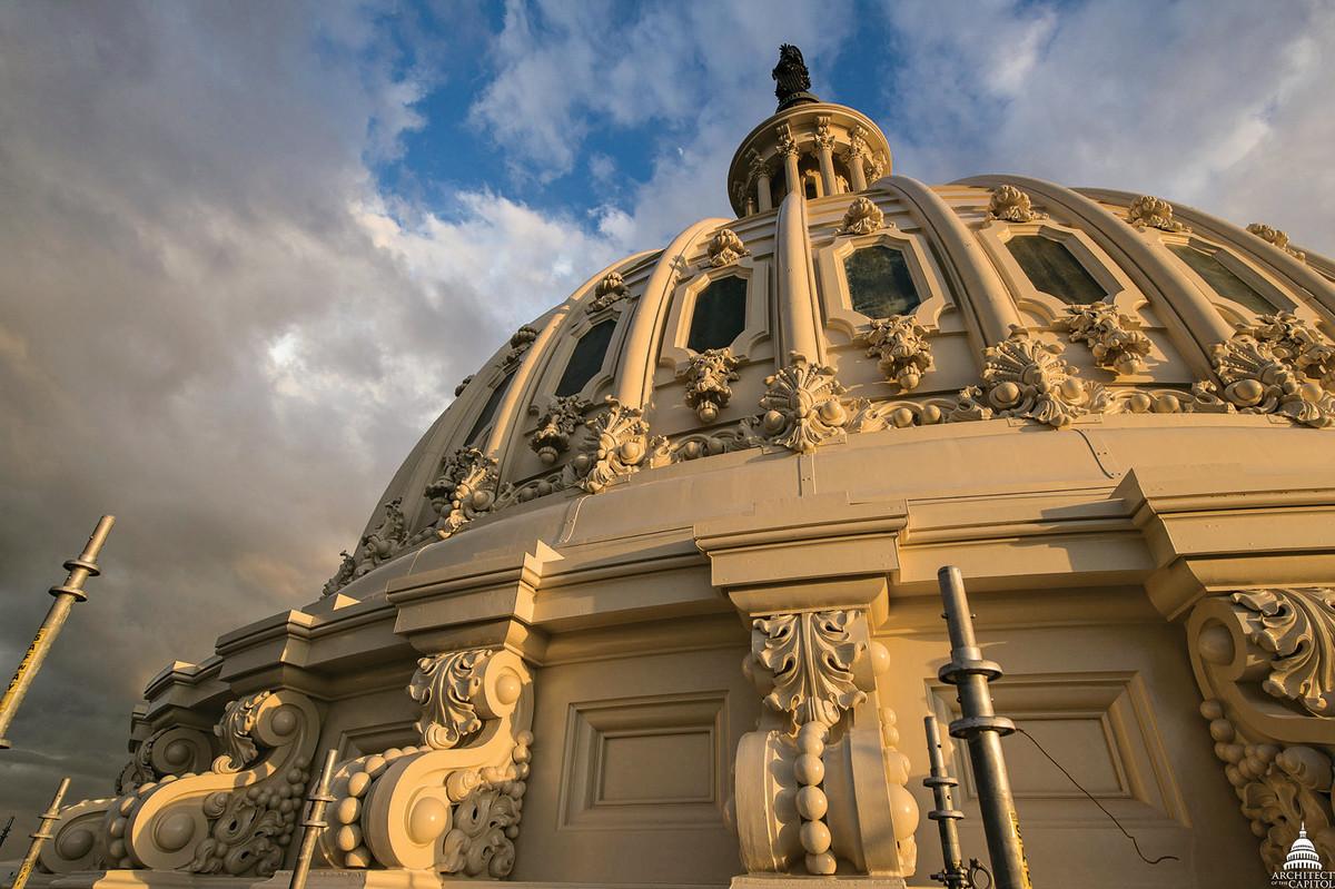 U.S. Capitol cast-iron dome