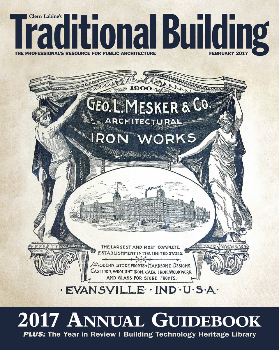 2017 Traditional Building Annual Guidebook
