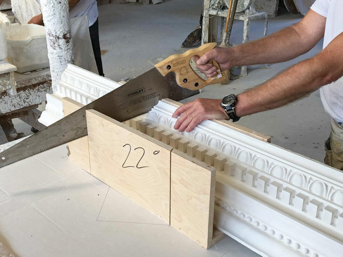 historic plaster repair