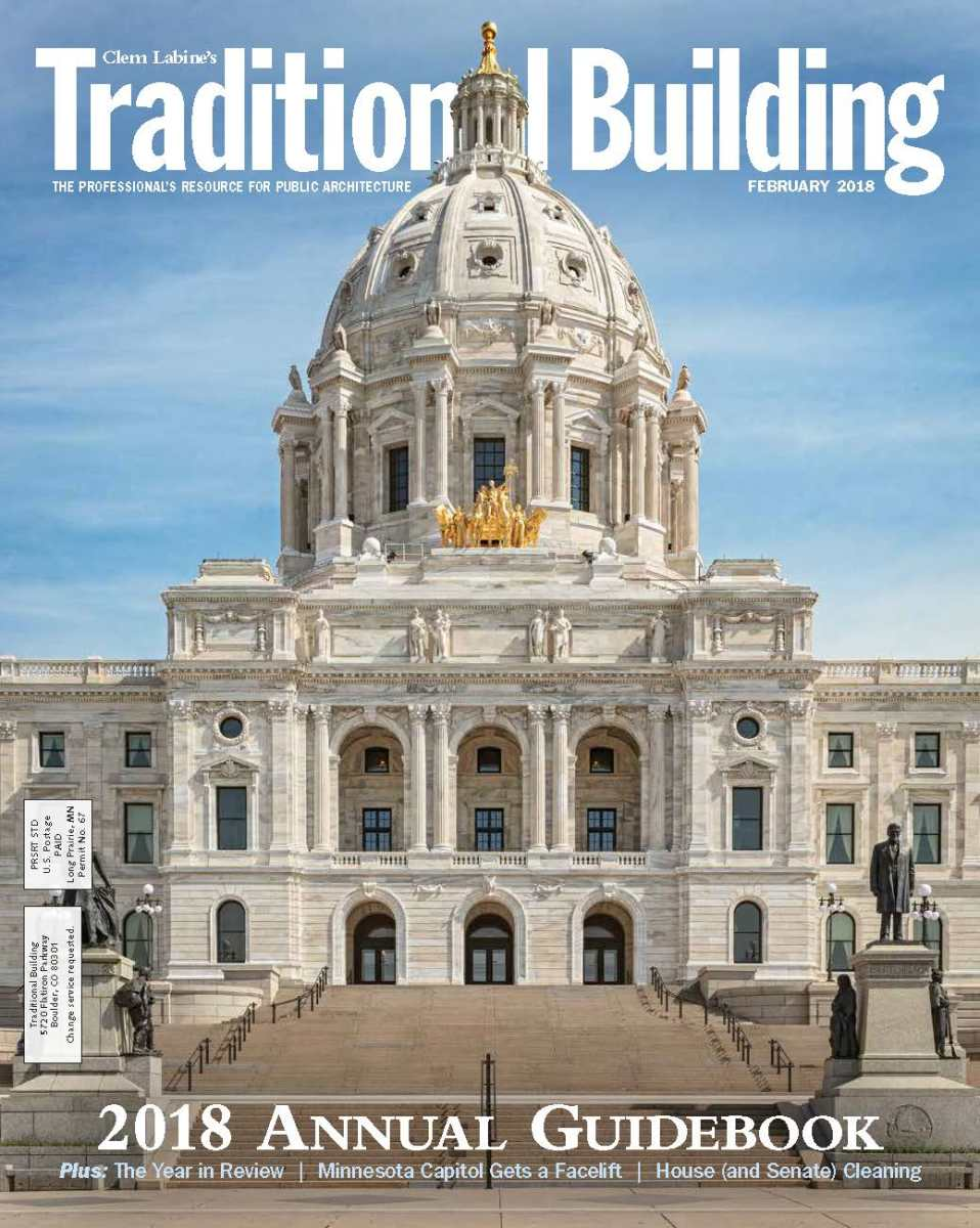 2018 Traditional Building Annual Guidebook