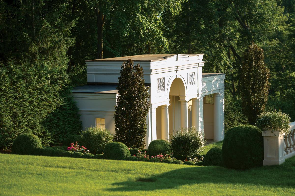 original garden pavilion by Ellen Biddle Shipman