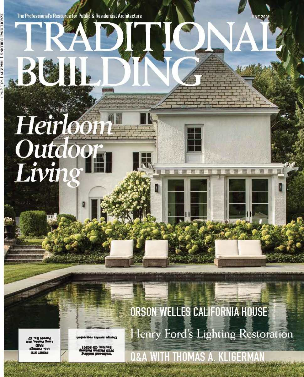 Traditional Building's June 2019 issue