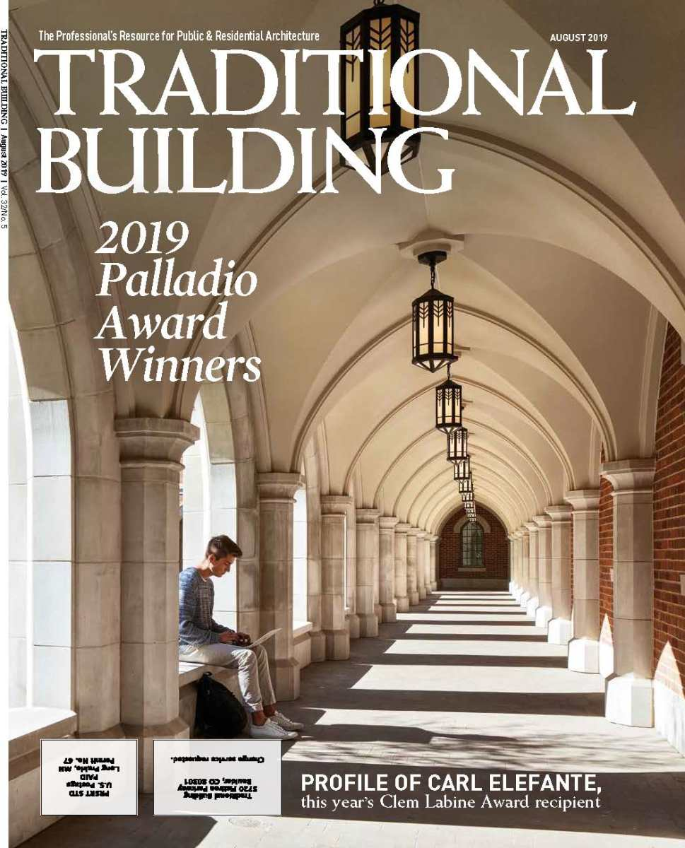 Traditional Building's August 2019 issue