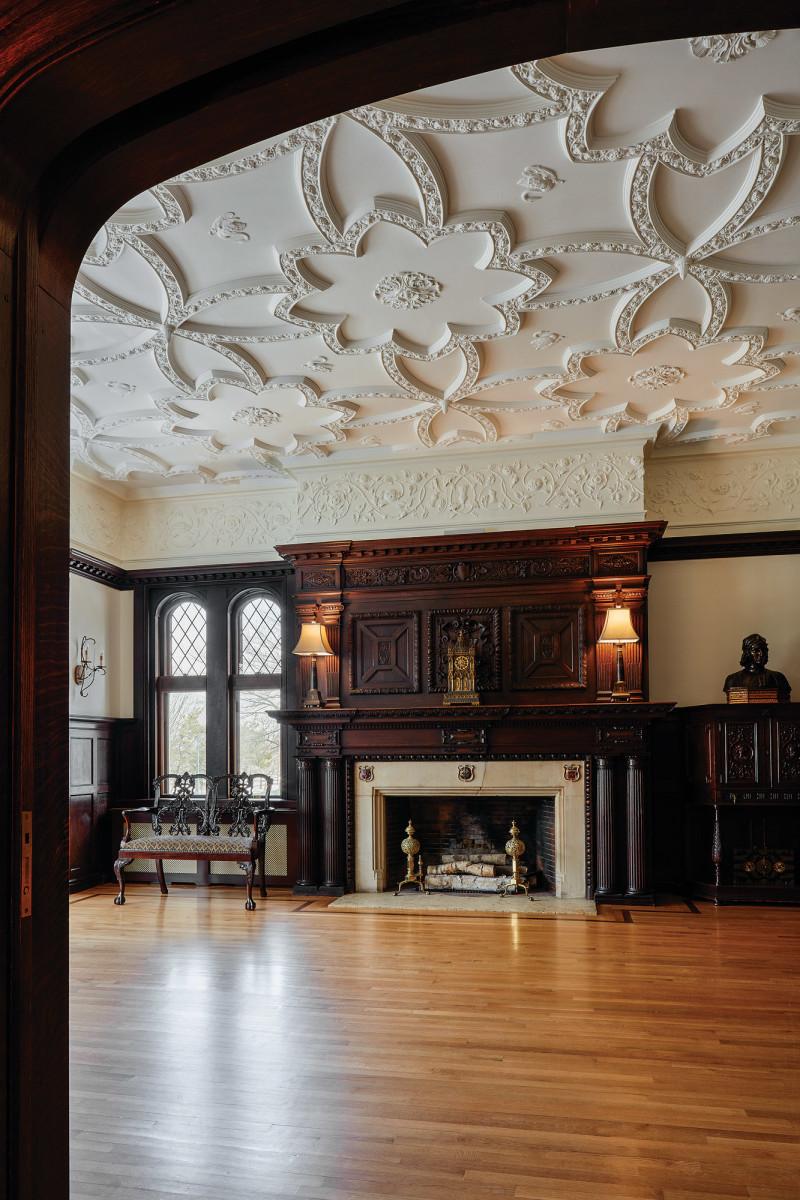 ceiling library BU