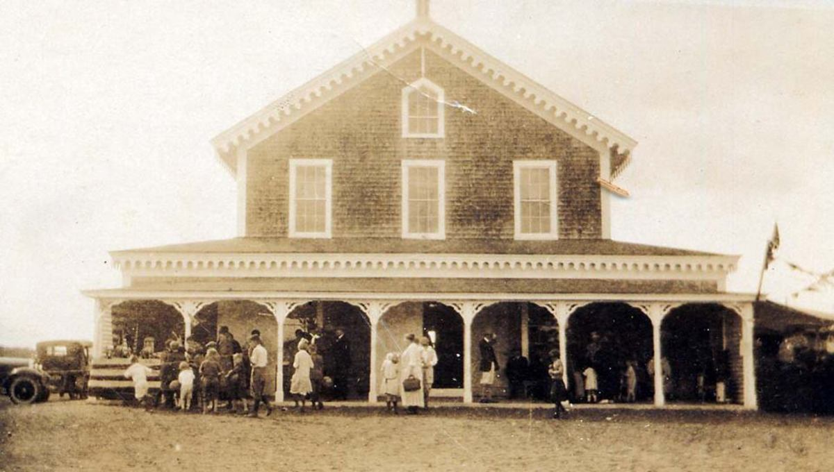 grange hall historic photo