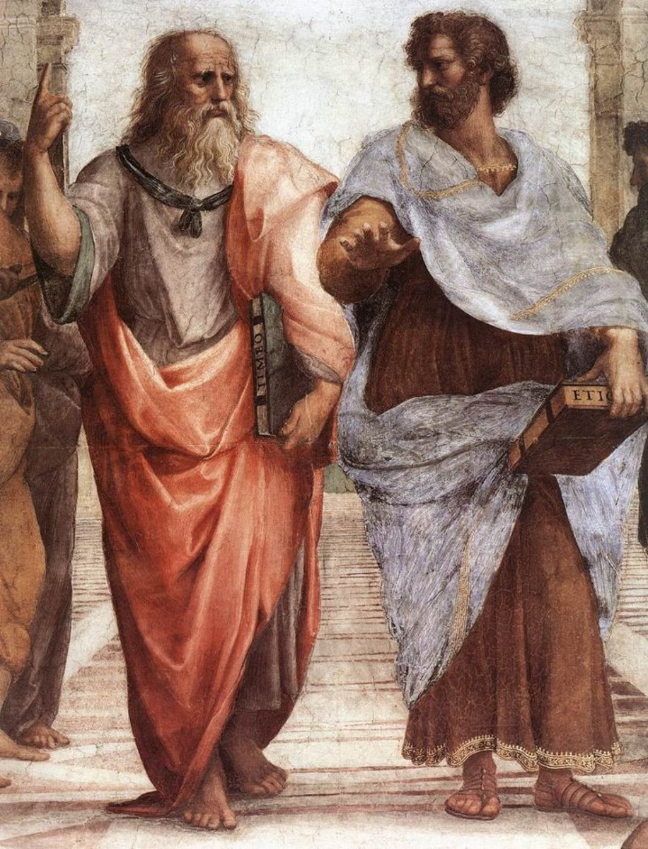 The School of Athens by Rafael.