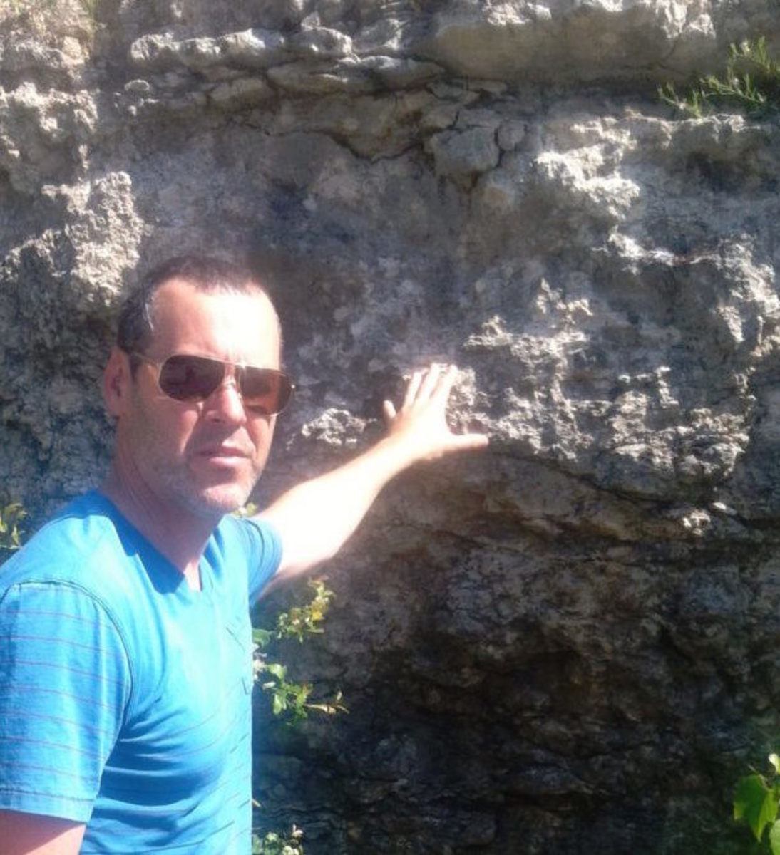 Texas limestone