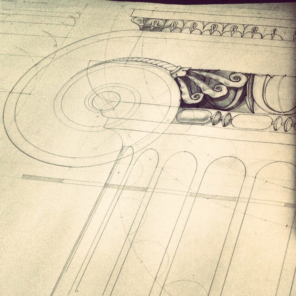 moulding drawing