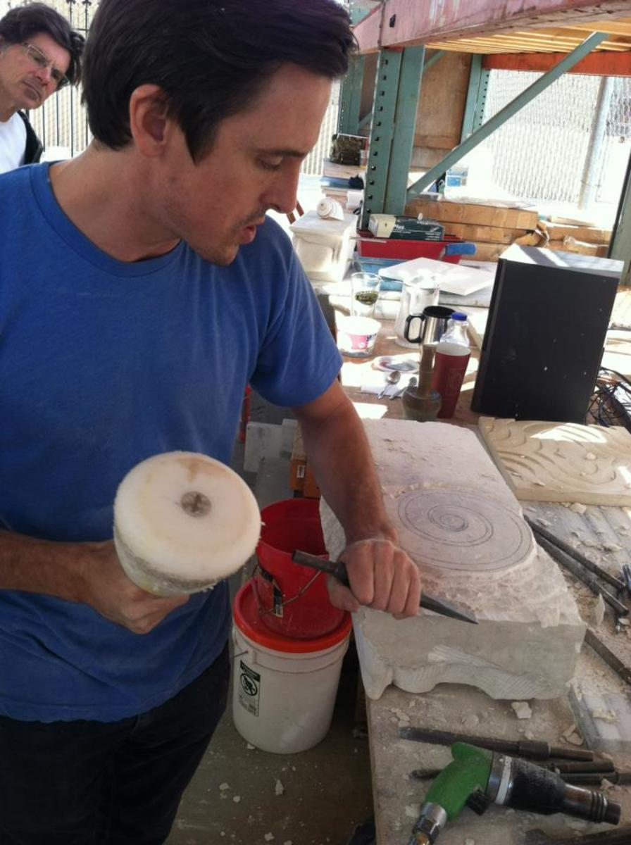 carving plaster