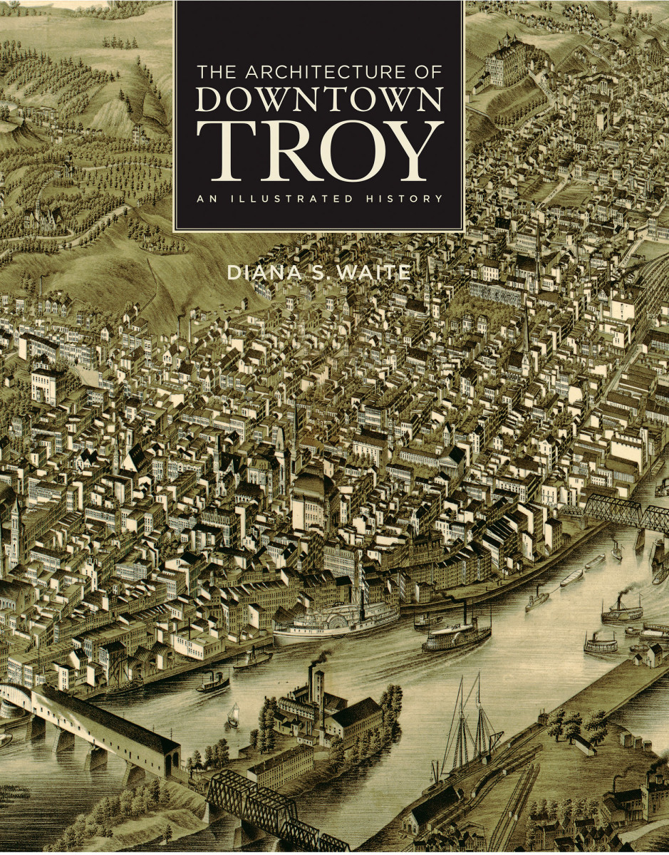 The Architecture of Downtown Troy cover