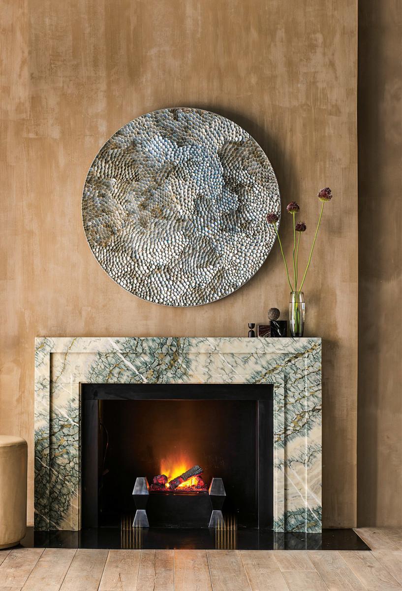 stone mantel
