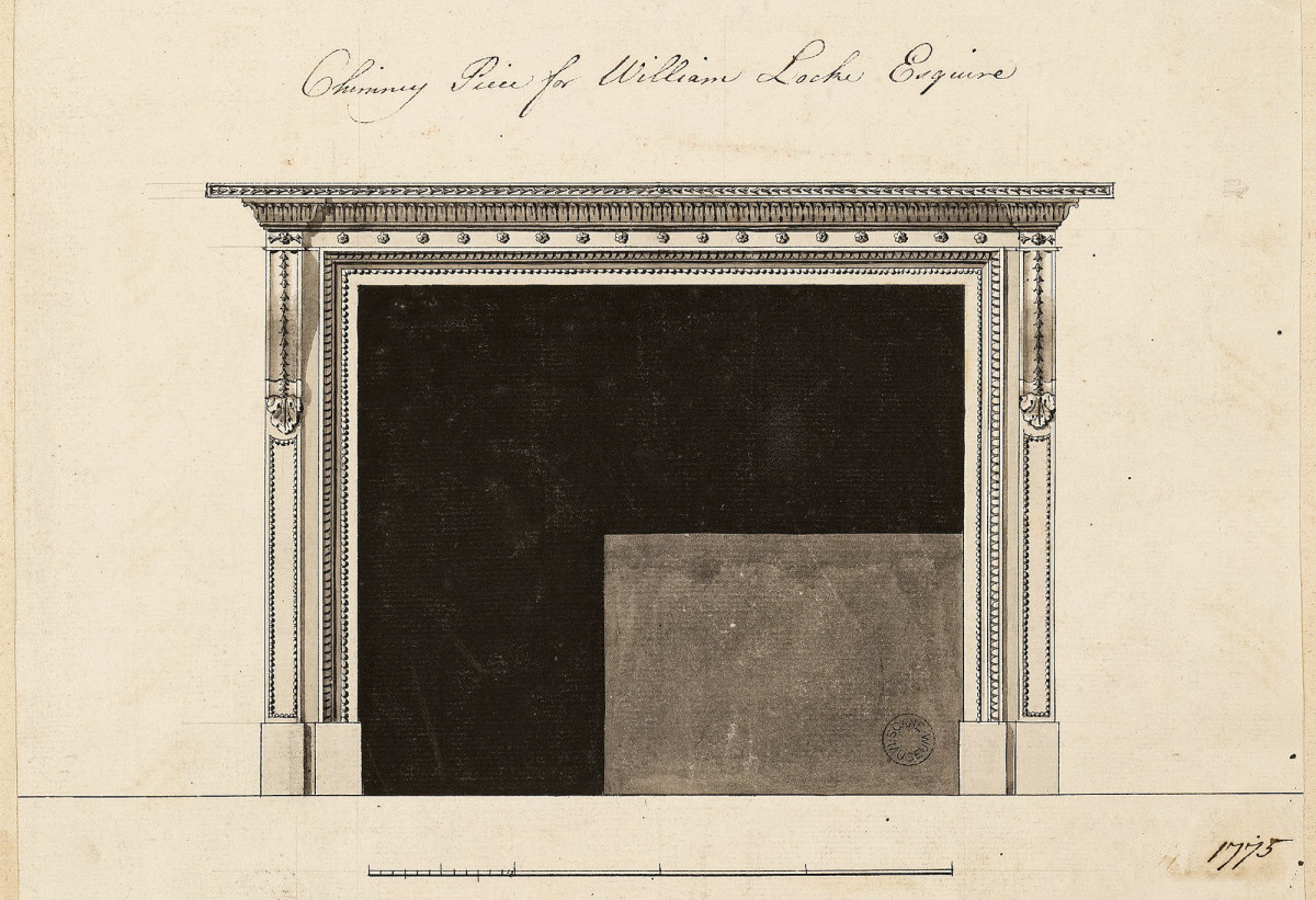 original Robert Adam drawing