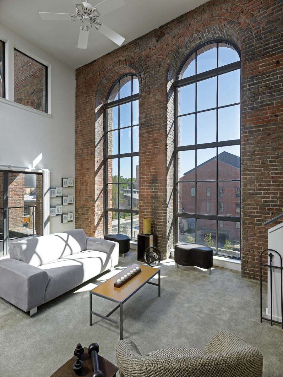 Clipper Mill Industrial Park residence, Quinn Evans Architects