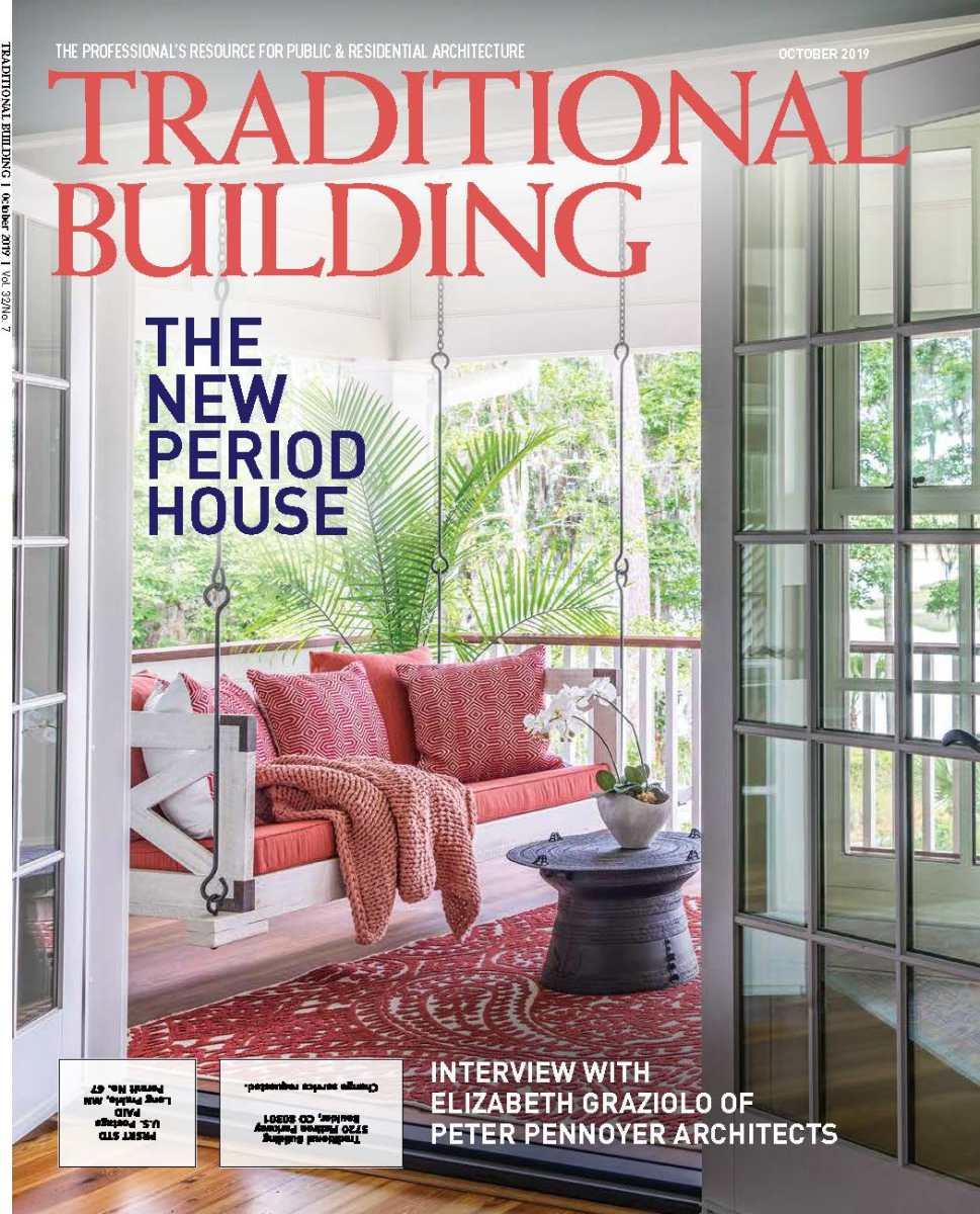 Traditional Building magazine, October 2019