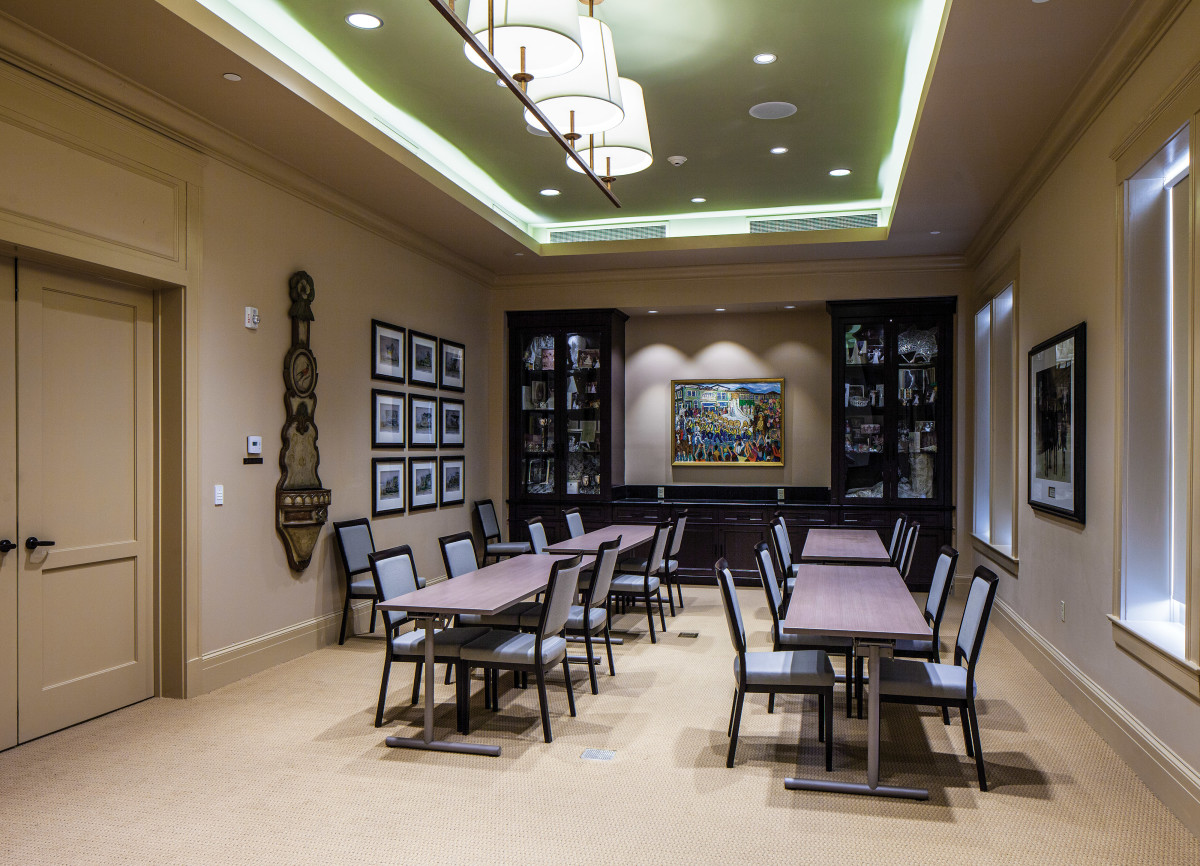 Southern Hotel meeting room