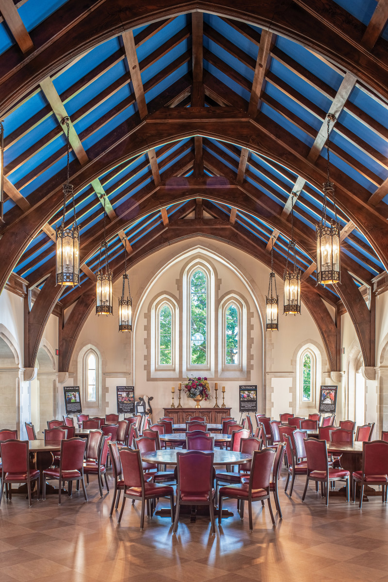 great hall at Church of the Heavenly Rest, Curtis & Windham