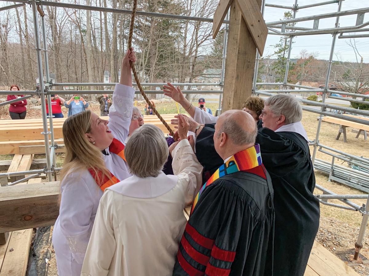 celebratory bell ringing