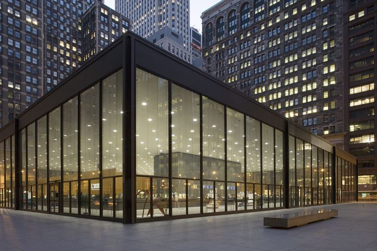 5. Mies can der Rohe, Federal Center, Chicago 1959-74 Mies can der Rohe, Federal Center, Chicago 1959-74 Carol Highsmith