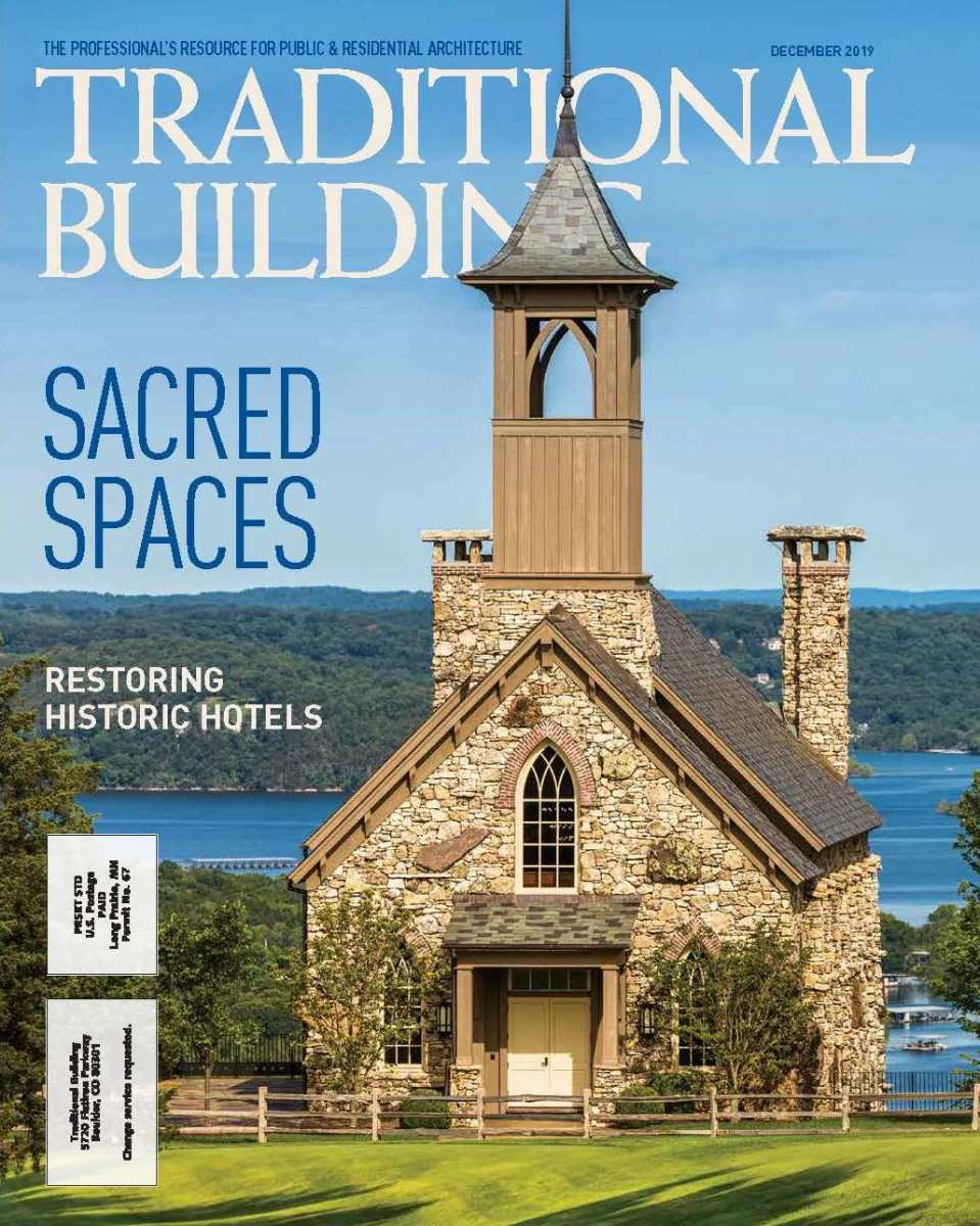 Traditional Building Magazine, December 2019