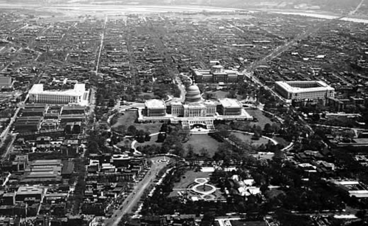 U.S. Capitol complex, 1923