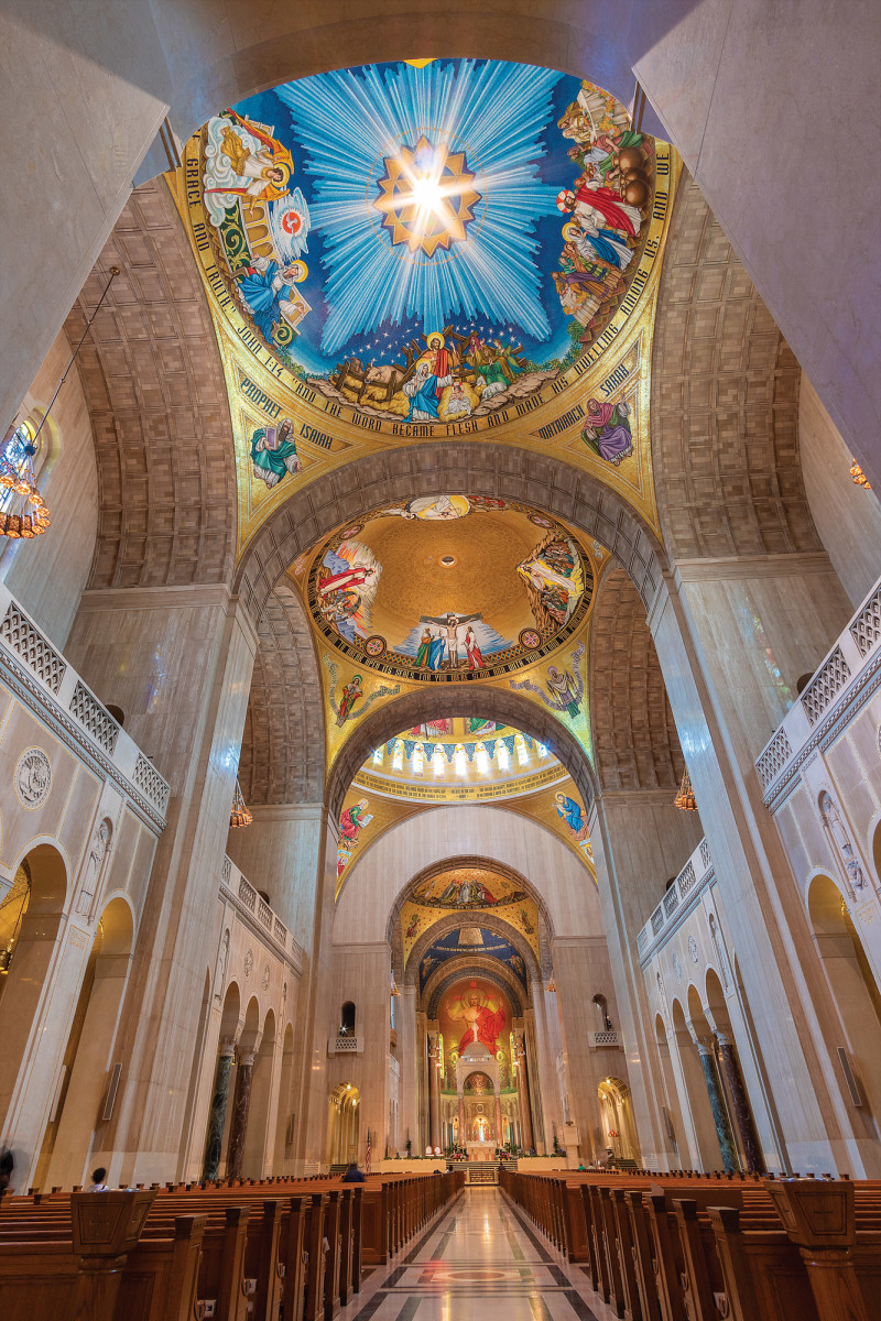 Trinity Dome in America's Catholic Church