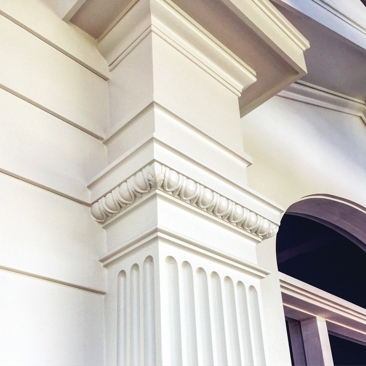 Doric entablature for a Colonial door surround