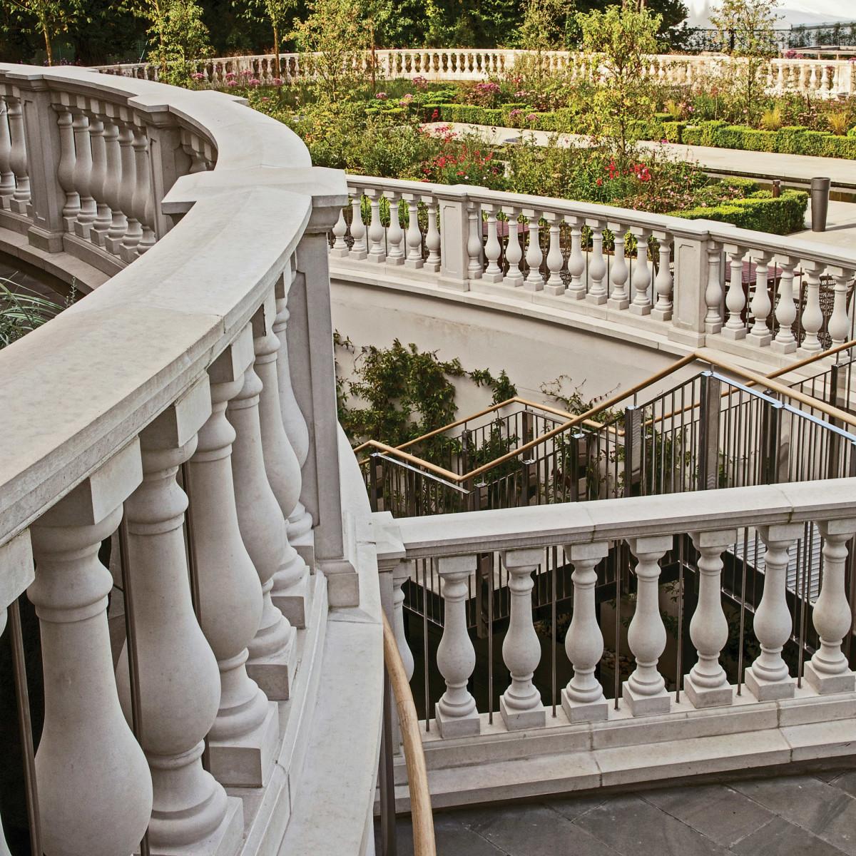 Haddonstone balustrade