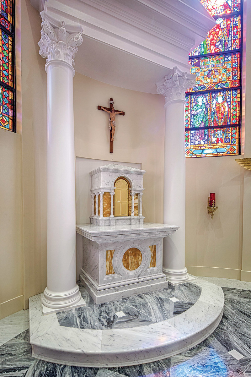 Tabernacle at Holy Name of Jesus Cathedral