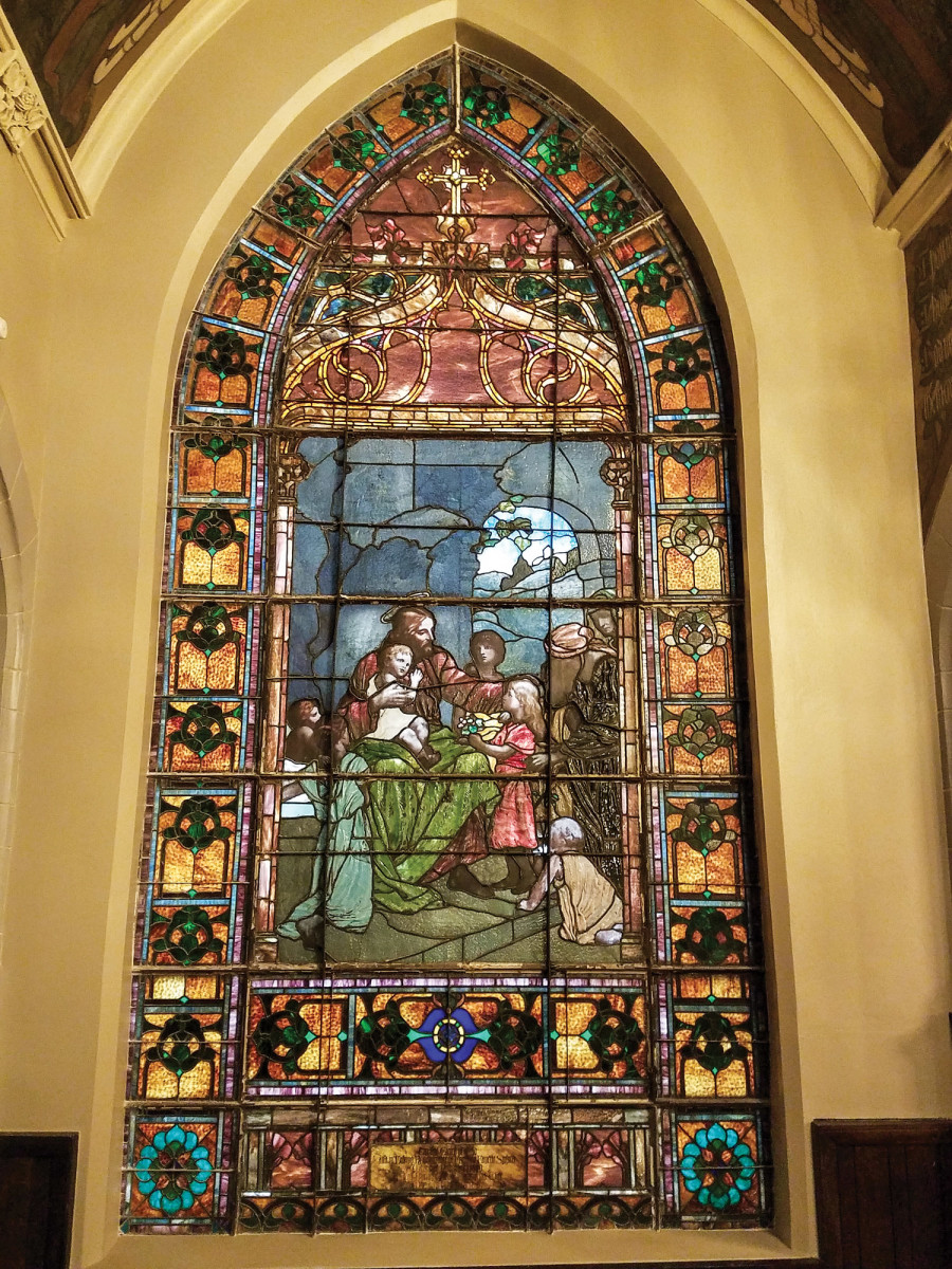 restored stained glass