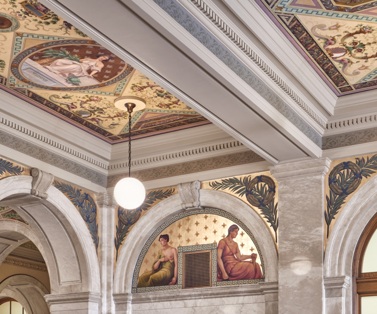 Luzerne County Courthouse, John Canning & Co., Palladio Award