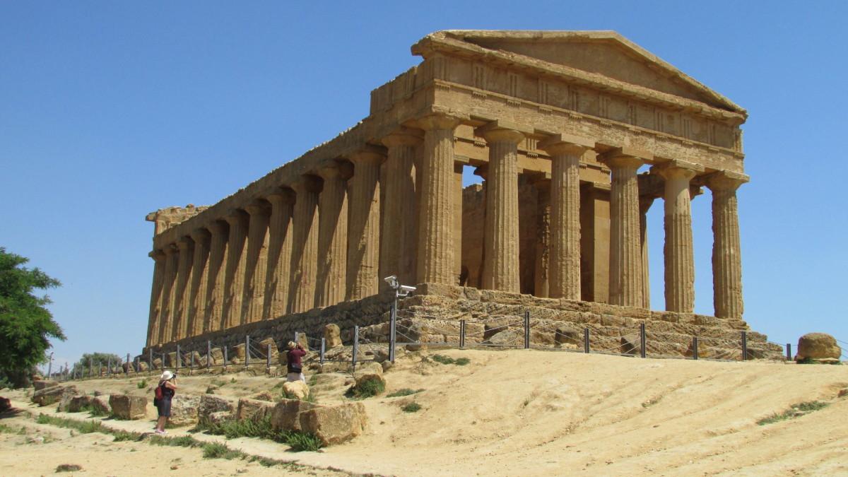 Agrigento Temple of Concordia 430