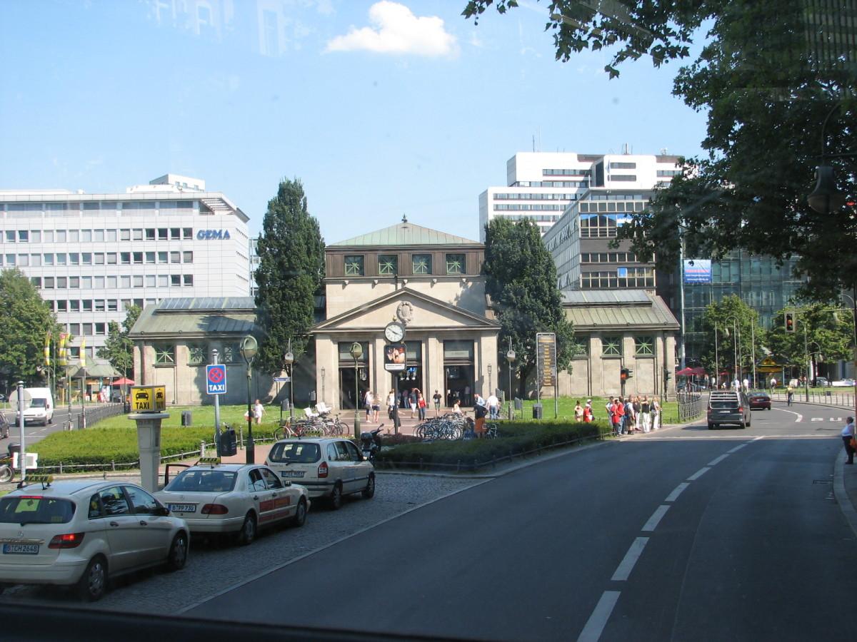 Wittenburgplatz Platx U Bahn 1911-13