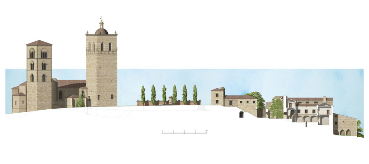 Intervention on the Medieval Walls and Surroundings of the Convent of La Coria