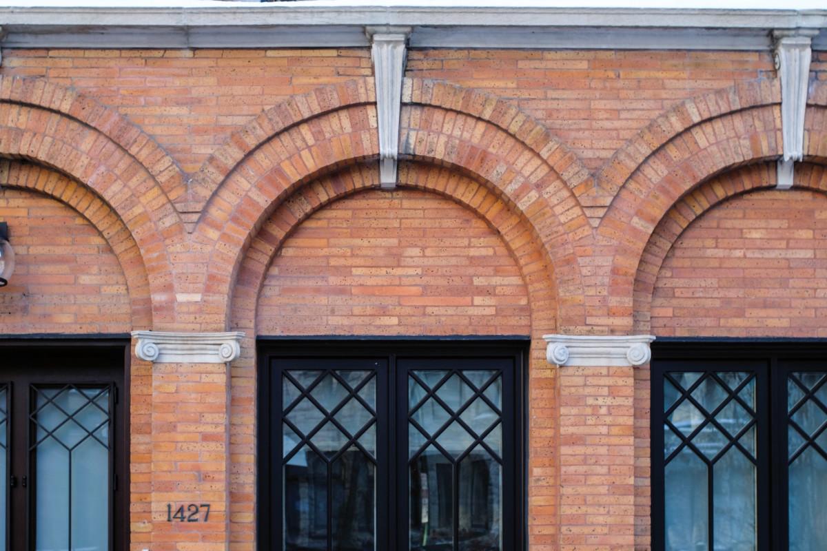 Good quality repointing masonry