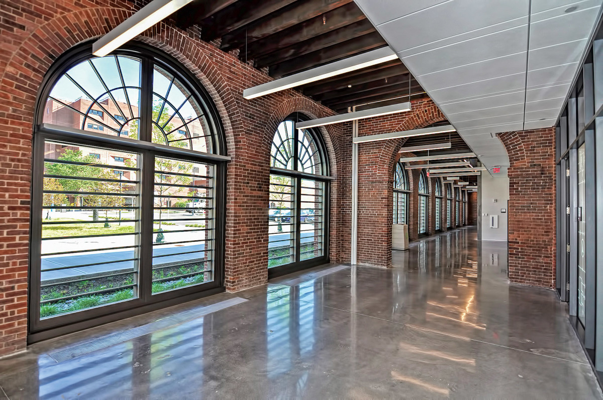 One of St. Cloud Windows' latest projects is the Springfield Armory in Springfield, Massachusetts.
