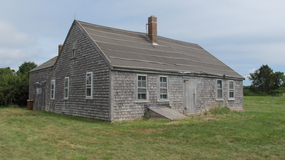 Preservationist Brian Cooper has worked to stabilize the structure and document its historic fabric.