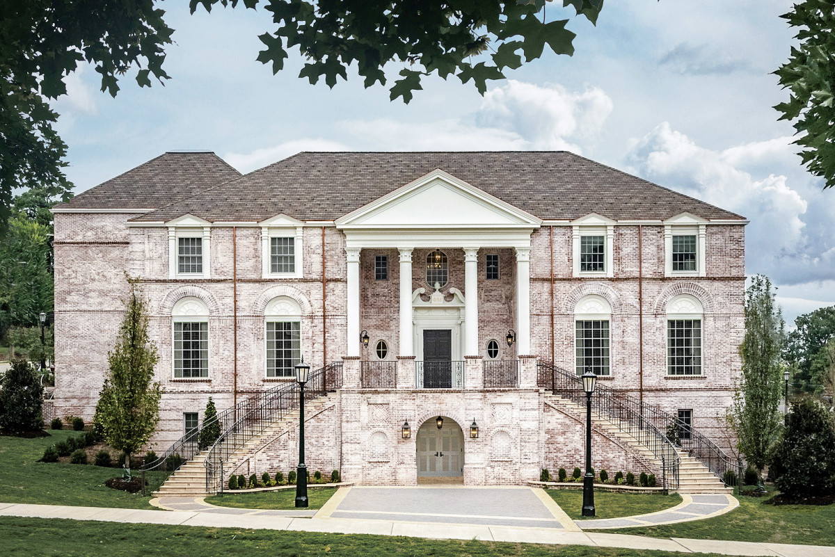 A New Sorority House By Michael G Imber Traditional Building