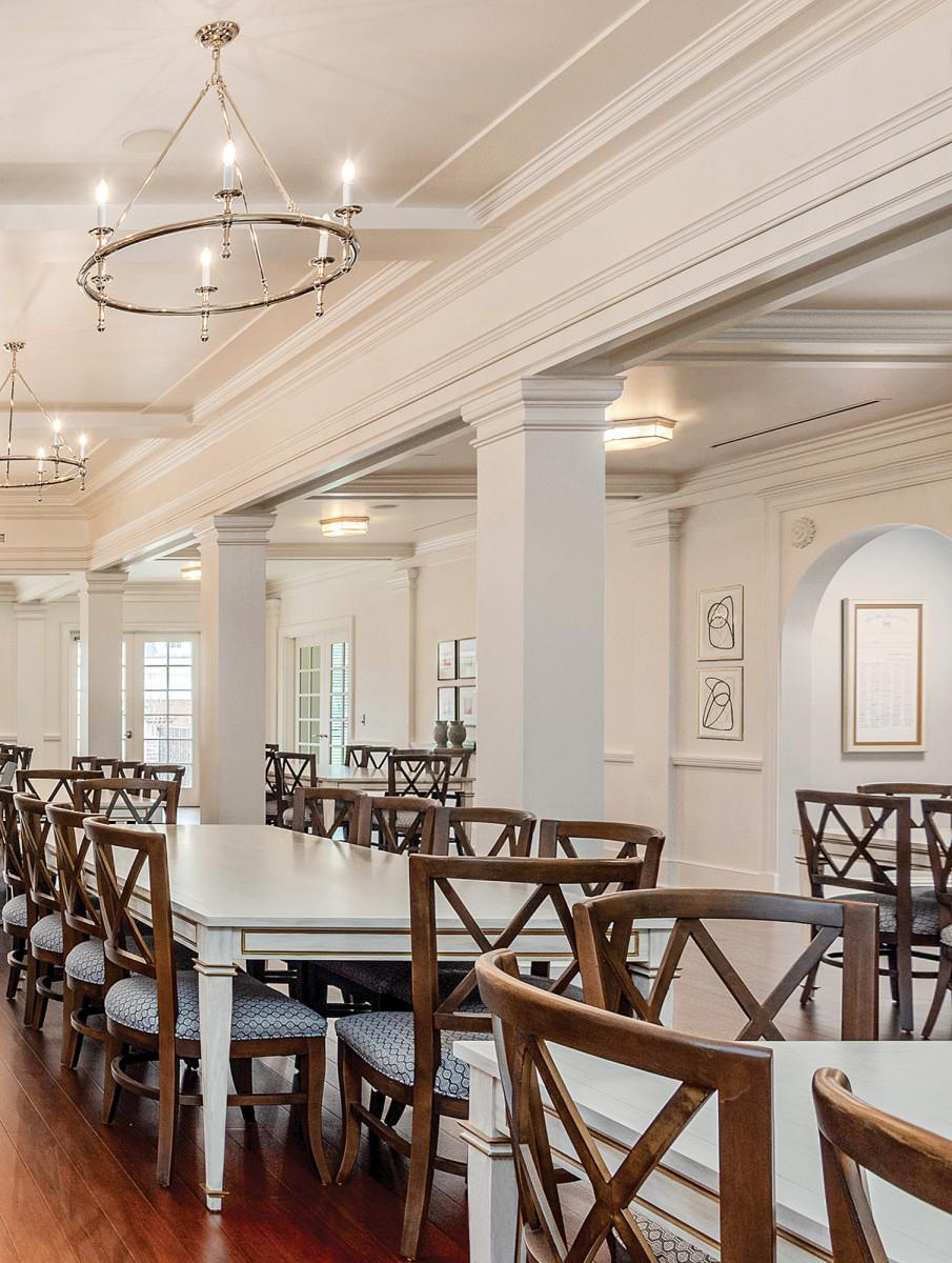 Phi Mu dining room