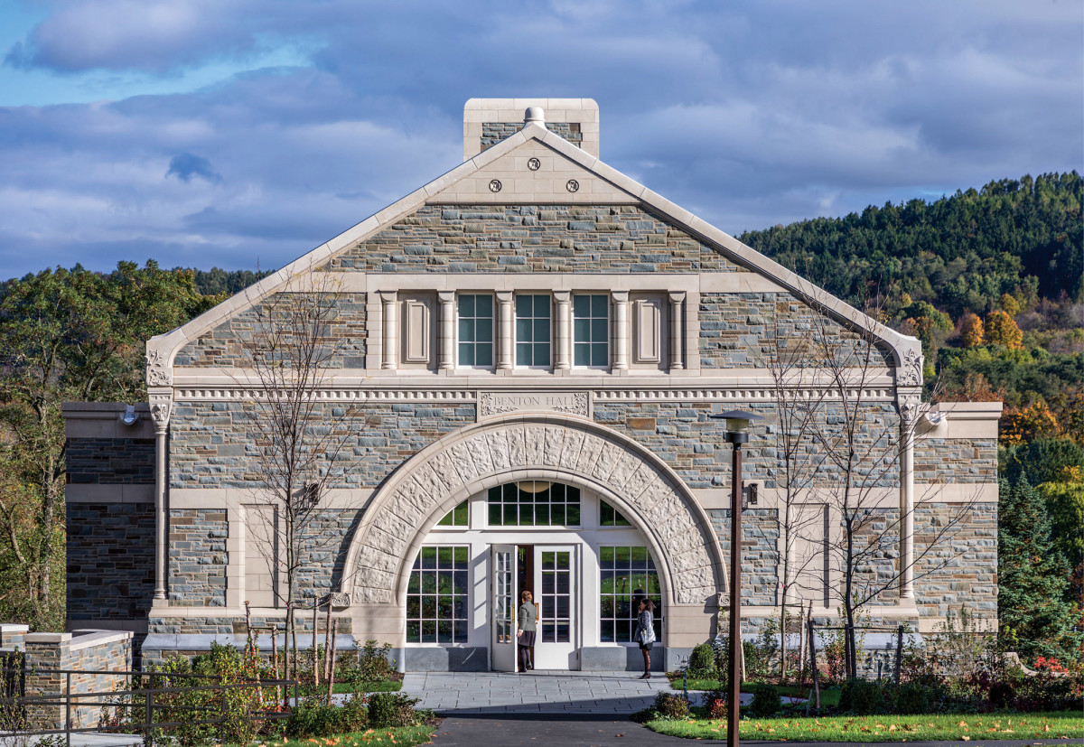 Robert A.M. Stern Architects, Benton Hall, Colgate University