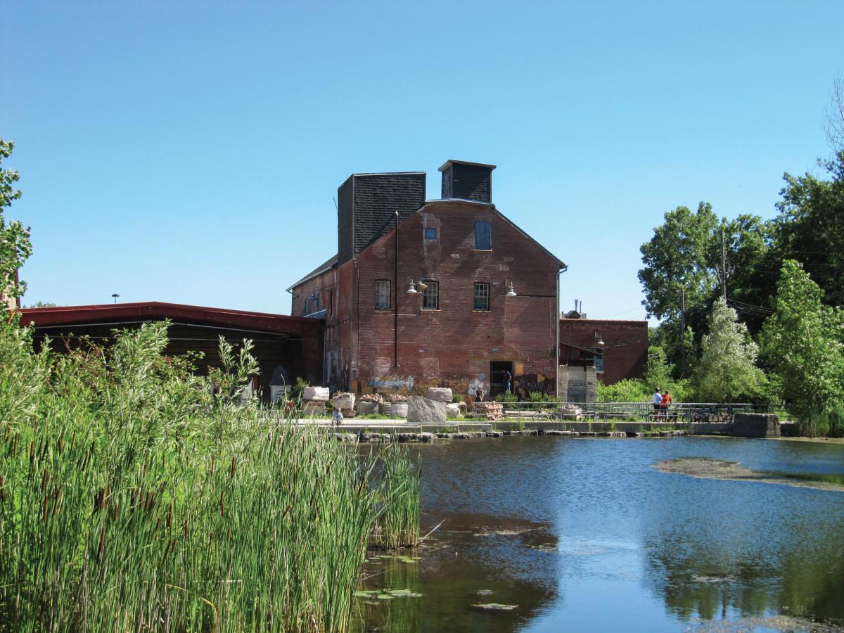 Former Don Valley Brickworks, Toronto, Ontario