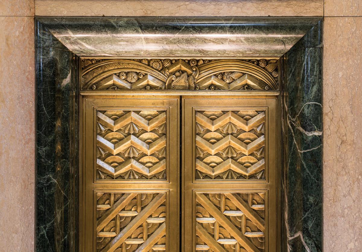 Art Deco Moderne motifs