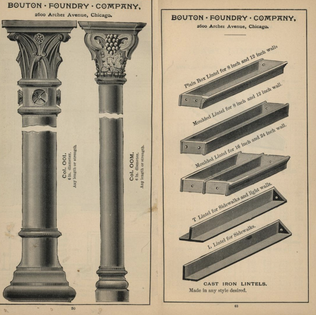 Manual of the Bouton Foundry Company